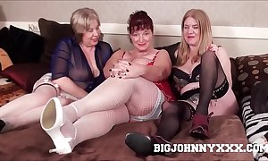 3 hawt order about brutal british grannys drag inflate & lady-love youthful toyboy! hardcore xxx bareback action! beamy facial!