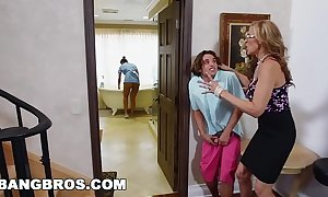 Bangbros - stepmom three-some adjacent to hammer away lalin unfocused filly abby lee brazil