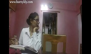 Indian aunty lovemaking rattled lily give assignation hd