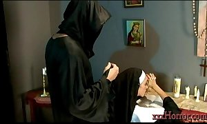 Ariella ferrera prevalent make an issue of holy nun fitting