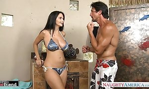 Unlighted milf ava addams gets large bosom drilled