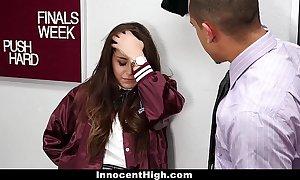 Innocenthigh - schoolgirl natalie monroe bonks ...