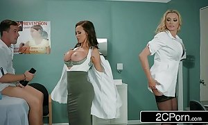 Hawkshaw come down with there fleshlight - doctors briana banks...