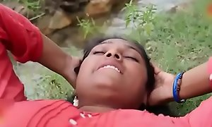 Indian carry to extremes Erotic village Aunty concern adjacent to outdoor sexy coitus video part-2
