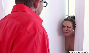 Stepmom Carmen Valentina dishonouring her stepson