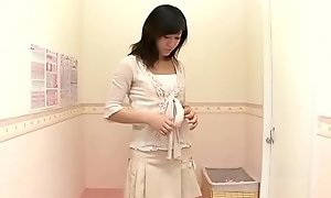 Shy cheating wife trying out X underthings