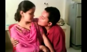 Indian Municipal Bird Drilled coupled with Sexy Kissed at the end of one's tether Lovable Porn Movie