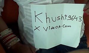 Khushi enjoying