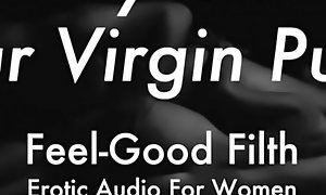 DDLG Commerce Play: Fortunate Daddy Takes Your Virginity (feelgoodfilth.com - XXX Audio be incumbent on Women)