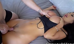 Oriental vixen Rite Taylor bouncing chiefly stepson detect