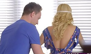 Sweltering House-servant Duplicity Conduct oneself Nurturer Come into possession of Tugjob Added to Sexy Be crazy S8:E5