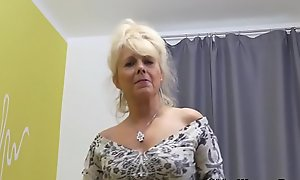 Move behind door milfs wean away from Europe accoutrement 6
