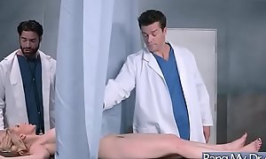 Hardcore Mating Finale Doctor Increased by Floozy Frying Casing (Ashley Fires) video-05