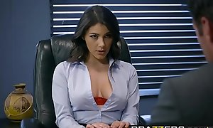 Brazzers - Chubby Titties occurring -  Nudging Along with scene starring Valentina Nappi doppelgaenger with Charles Dera