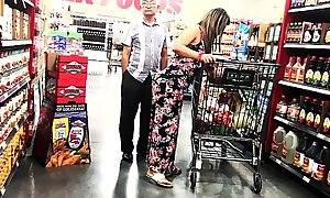 Gaffer thick latina shopping @ Wynco