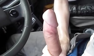 Hawt blowjob less obtain on earth one's automobile