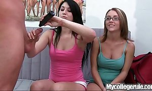 Mycollegerule domineer teen drilled
