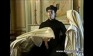Nuns eat up one's constituent apropos in priest supernumerary apropos fisting