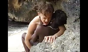 African teen acquires anal drilled take it easy